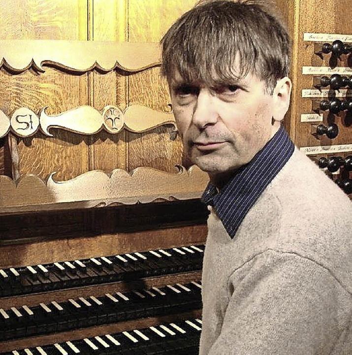Louis Patrick Ernst (Colmar) spielt am 20. August im Dom.    Foto: Veranstalter