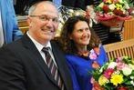 Steinens Bürgermeister Rainer König nach 16 Jahren verabschiedet