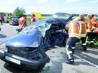 Frau stirbt bei Unfall nahe Niederschopfheim