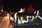 Fotos: Autokorso in Weil nach dem Sieg der deutschen Nationalelf gegen Italien