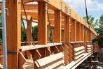 Fotos: Die neue Holzbr�cke ist da – ein R�ckblick