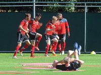 SC Freiburg beginnt mit dem Training f�r die Bundesliga