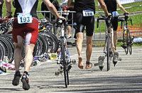 Triathlon-Ligarennen mit 500 Startern am Schluchsee