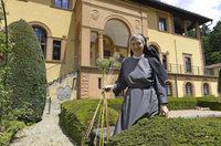Magdalena L�ffler ist die neue Priorin des Benediktinerinnen-Klosters in G�nterstal