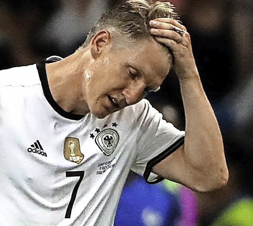 Es hat nicht gereicht: Bastian Schweinsteiger   | Foto: dpa