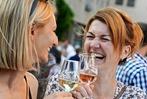 Fotos: 26. 000 Menschen feiern beim Freiburger Weinfest auf dem M�nsterplatz