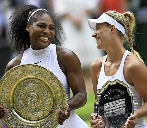Tennis Kerber verliert im WimbledonFinale gegen Serena  ~ Geschirr Queens