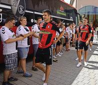 SC Freiburg l�sst sich zwei Mal feiern