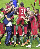 Portugiesen holen ihren ersten Titel