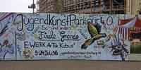Grosses Finale beim Jugendkunstparkour - mit Theater, Ausstellung und Poetry Slam