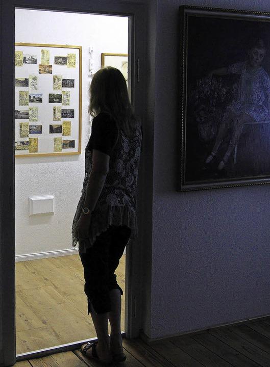 Ein neuer Ausstellungsraum im Rebayhau...Hilla von Rebays Beziehung zu Teningen  | Foto: Patrik Müller