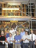 Kirchenbaustelle wird Erlebnisort