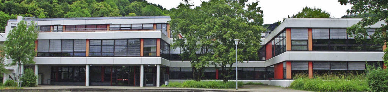 Als Schule im Grünen sind Realschule u...e zwischen beiden Ortsteilen platziert  | Foto: Rolf Reißmann