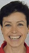 Sabine Spitz will aufs Podium