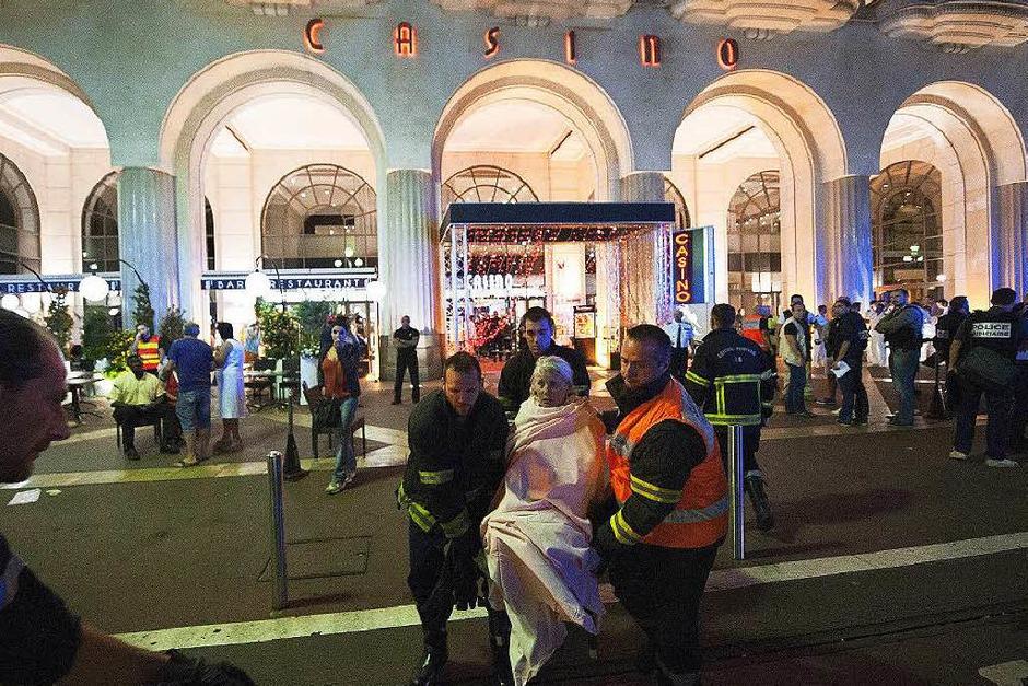 Verwundete in Nizza (Foto: dpa)