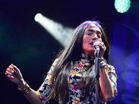 Fotos: Stimmenkonzert mit Hindi Zahra und Holly Macve im Lörracher Rosenfelspark
