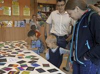 Drei Tage lang war die Abt-Steyrer-Grundschule in S�lden eine Kunstakademie