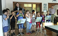 Junge Akkordeon-Talente