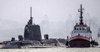 U-Boot rammt Frachter