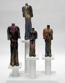 Keramiken von Gerd Leibe im Mühlenmuseum Frick-Mühle