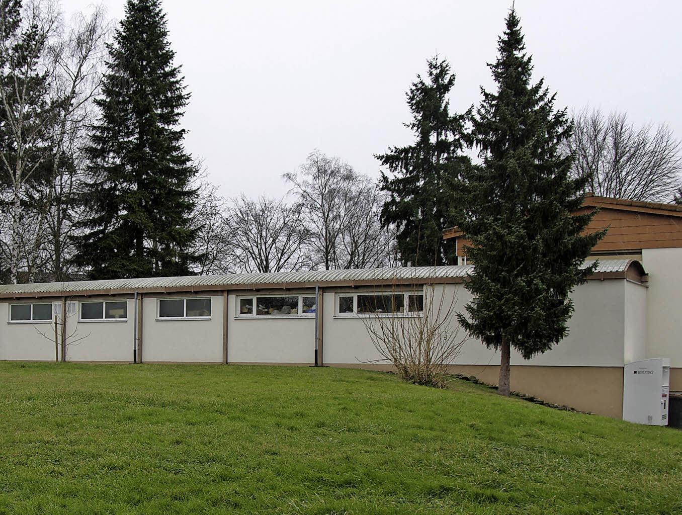 anbau f r den kindergarten heitersheim badische zeitung. Black Bedroom Furniture Sets. Home Design Ideas