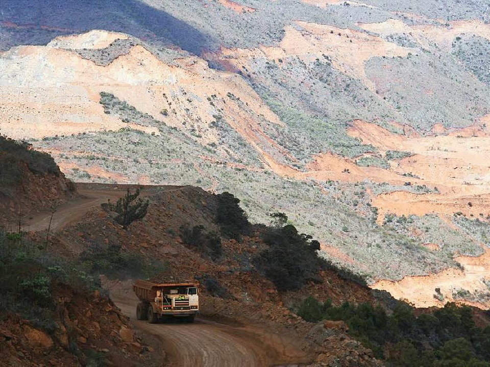Viel verseuchtes Gelände: Bergbauregion  in Neukaledonien   | Foto: Privat / Neubauer (1)