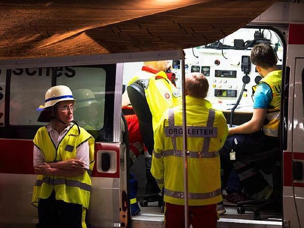 Freitag: Koordination des Rettungseinsatzes