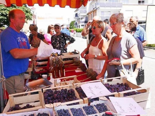 Beim Dorffest in Wallbach und dem Naturparkmarkt war viel geboten. Fotos: Marion Rank