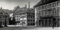 Die S�dwestecke des M�nsterplatzes war einst ein klassizistisches Architektur-Juwel