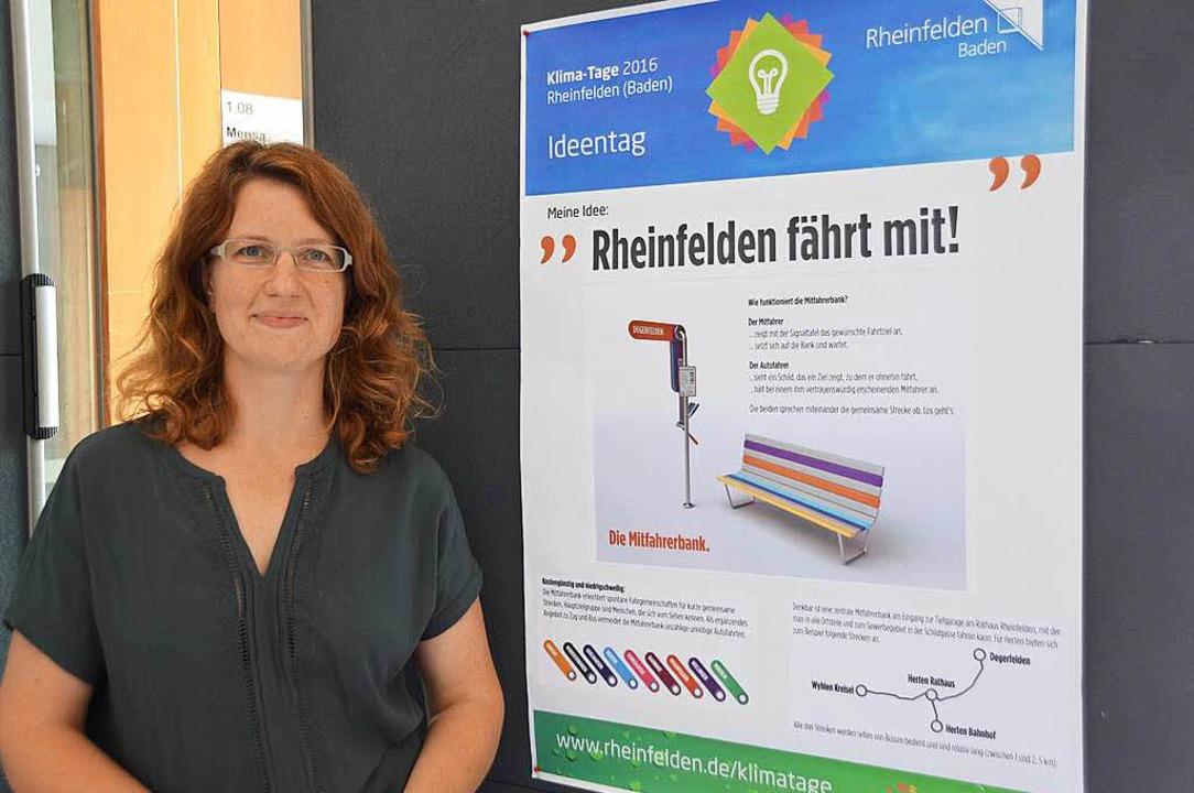 Die Mitfahrer-Bänke von Helga Ney-Wildenhahn gefielen der Jury besonders gut.  | Foto: Horatio Gollin