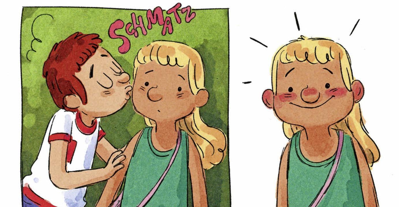 "Der erste Kuss:  ""Paula – Liebesbrief des Grauens""   | Foto: reprodukt"