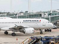 Air-France-Fl�ge fallen aus
