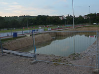 Grundwasser stoppt Sportheimbau