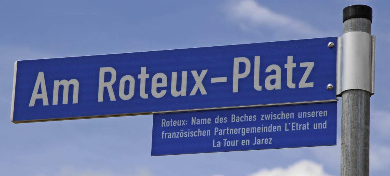 Der Bach Roteux ist das verbindende Element.   | Foto: Anja ihme