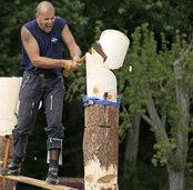 Holzf�ller-Europameisterschaft in Schuttertal