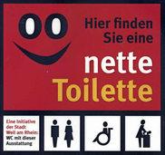 """Stadt setzt weiter auf """"Nette Toilette"""""""