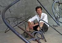 Bruno Feger lebt mit und in der Kunst
