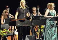 Mine, Dorothee Mields und die Berliner Lautten Compagney mit Monteverdi-Projekt im L�rracher Burghof