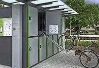 Parkboxen f�r Fahrr�der sollen Touristen locken