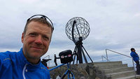 Michael Habighorst hat's per Rad zum Nordkap geschafft