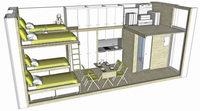 Freiburger Solararchitekt plant �ko-Container f�r Fl�chtlinge