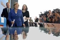 Die Krise macht keinen Urlaub: Merkel meldet sich zur�ck