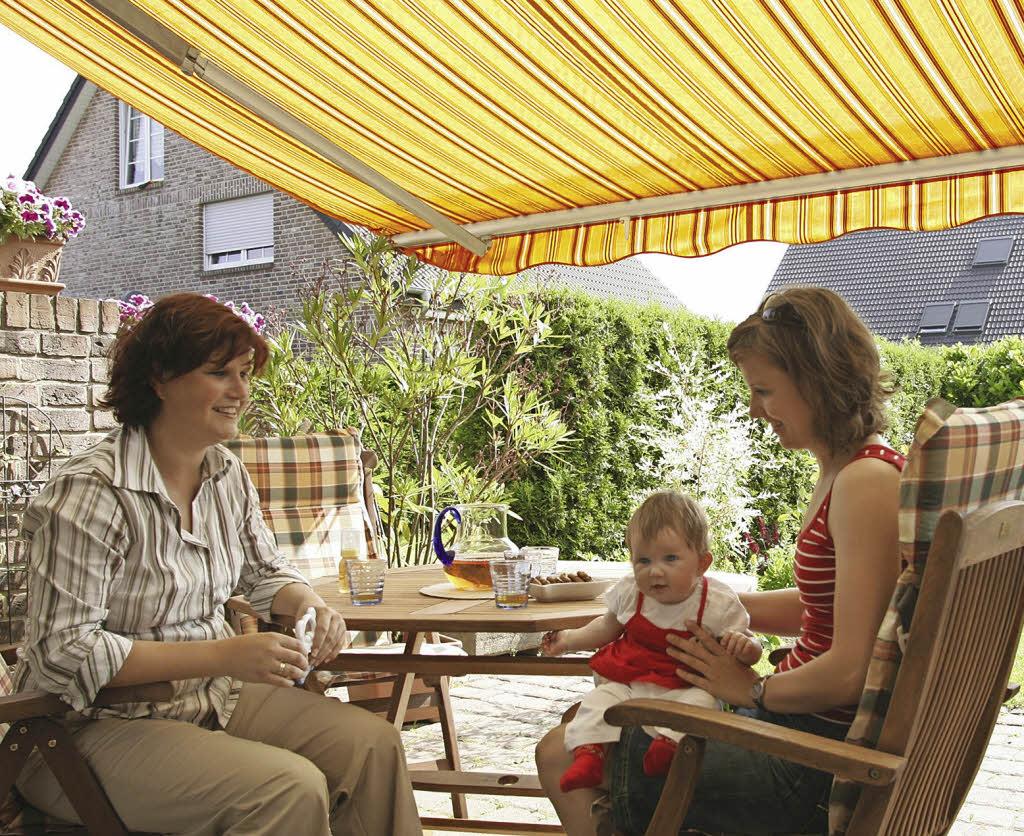 Sonnenschutz Ohne Klimaanlage Haus Garten Badische