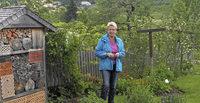 Mit Marlene und Christina M�ller, Tannenhof, Schwyz 14, mit F�hrungen und Bewirtung in Ibach