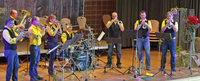 Mit der Brass-Band desBRASStscho und der Jugendmusikschul-Drumline in Schluchsee