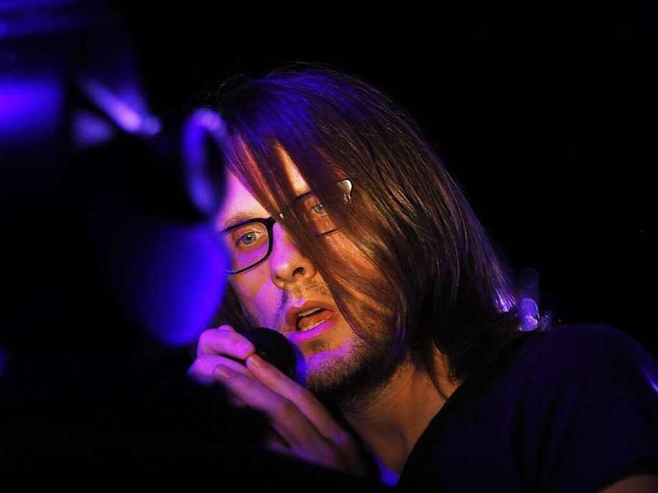 Prog-Rocker Steven Wilson beim ZMF  | Foto: Wolfgang Grabherr