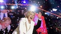 Hillary Clinton feiert in Philadelphia ihre Nominierung