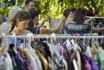 """Fotos: Achter """"Frollein Flohmarkt"""" der Badischen Zeitung in Freiburg"""