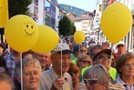 Fotos: Demonstration f�r das Spital Bad S�ckingen