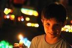 Fotos: 12.000 Lichter leuchten in Lenzkirch beim Lichterfest